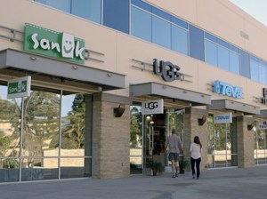 Deckers Outdoor Corp. has opened retail stores for its footwear brands at its new campus headquarters in Goleta. The Ugg boot parent's stock spiraled on Feb. 28, after the company predicted a first-quarter loss stemming from costs to build out company-owned Ugg stores around the world. (courtesy photo)