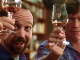 "Paul Giamatti, left, and Thomas Haden Church portrayed two friends on a roadtrip through Santa Barbara County wine country in the 2004 Oscar-winning film ""Sideways."""