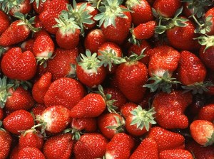 The value of the strawberry crop in Ventura and Santa Barbara counties dropped 5 percent to just over $1 billion last year as farmers struggled with the drought. (USDA photo)
