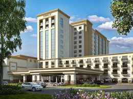 The Chumash tribe will start construction next month on a $112 million hotel and casino project in Santa Ynez. (Courtesy image)