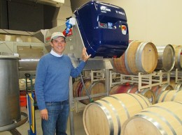 Alfredo Koch, of Allan Hanckock College's viticulture and enology program. (Courtesy image)