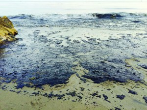Venadito Beach, about a mile south of Refugio State Beach, was covered in oil at 7 p.m. on May 19, 2015. Orella Ranch has an access tunnel that leads to Venadito Beach.