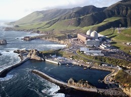The Diablo Canyon Power Plant sits on prime coastal property near Avila Beach.