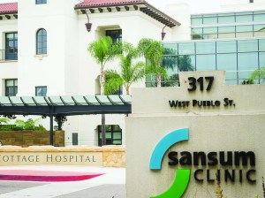 Santa Barbara's Cottage Hospital and Sansum Clinic have always been neighbors.