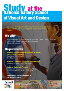 Applications to Study at National Gallery School of Visual Art and Design @ National Gallery of Zimbabwe