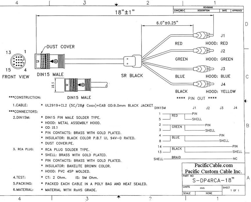 Rgb Vga Plug Wiring Diagram Download Wiring Diagram