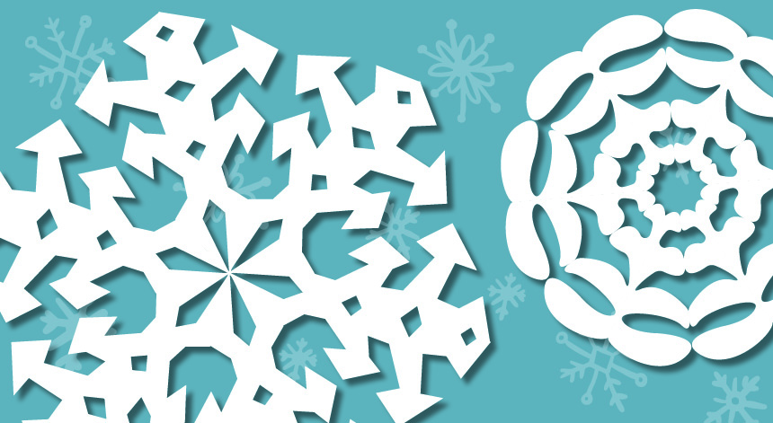 Craft Snowflakes With Printable Templates Pacific University