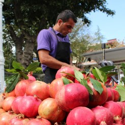 Pomegranate Juice, Istanbul, by Packing my Suitcase.