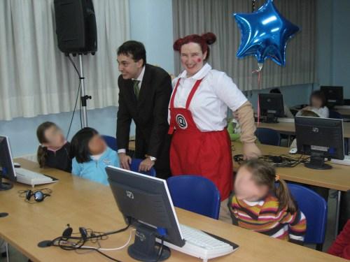 Nikä en un colegio de Asturias