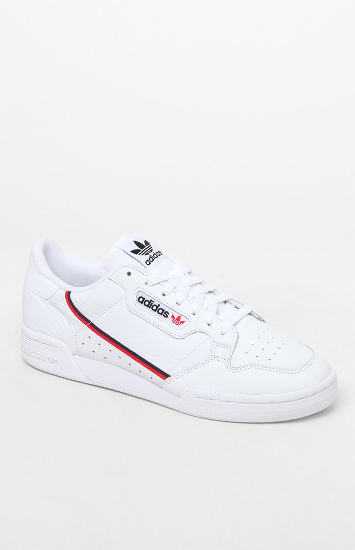 adidas Continental 80 White Shoes PacSun