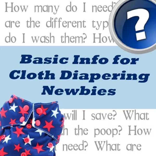 Are you new to cloth diapering? Check out the Padded Tush Stats advice for cloth diapering newbies for tips on how to get started!