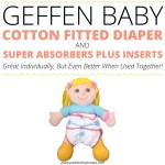 Geffen Baby Cotton Fitted Diaper And Super Absorbers Plus Inserts Overview