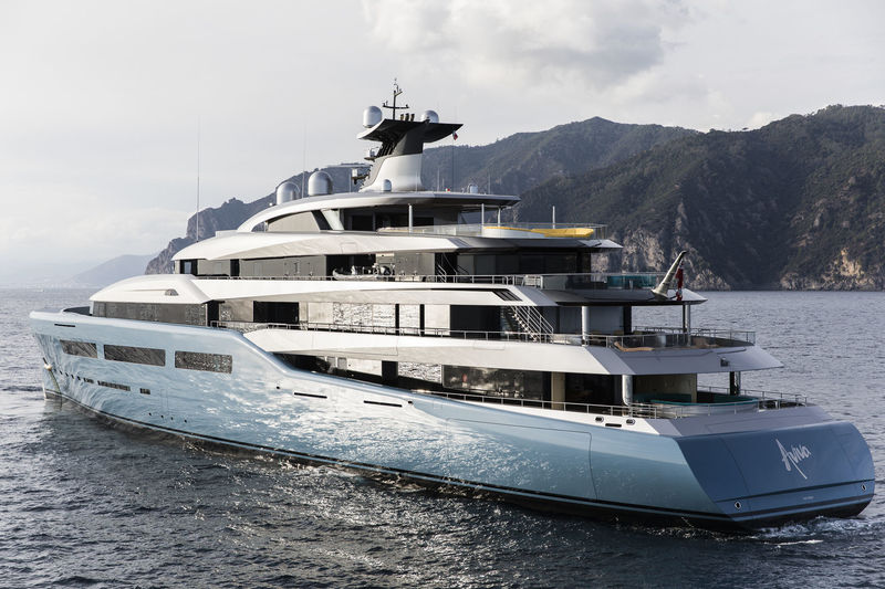 One More Demonstration Of The Growing Appetite For Padel Is New Superyacht Aviva As Reported By SuperYachtTimes This 98 Metre Motor Yacht