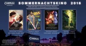 Cineplex Open Air Sommernachtskino Schloss Neuhaus Paderborn