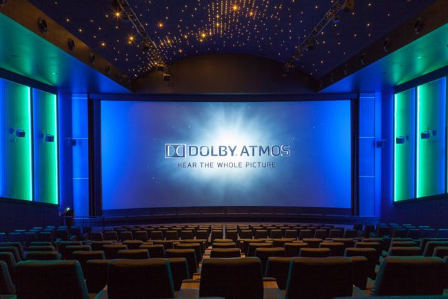 Neuer Kinosaal Cineplex Paderborn