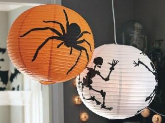 halloween paper lanterns