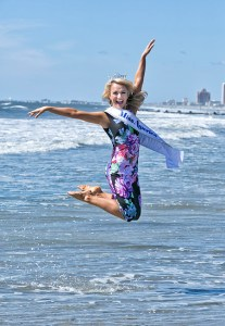 Miss America 2017 Savvy Shields toe dip