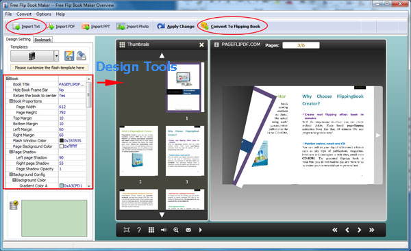 Flip Book Software for HTML5, Flip Book Maker