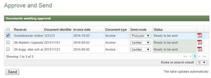 Start sending e-invoices to SAS Group Pagero