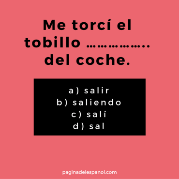 Quick Spanish questions