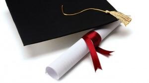 Diploma de la licenciatura de periodismo.