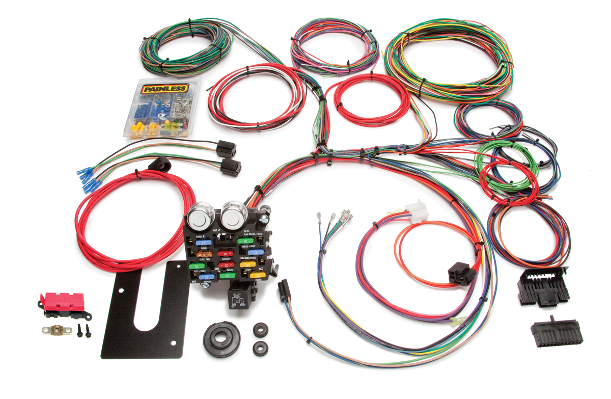 21 Circuit Classic Customizable Pickup Chassis Harness -GM Keyed