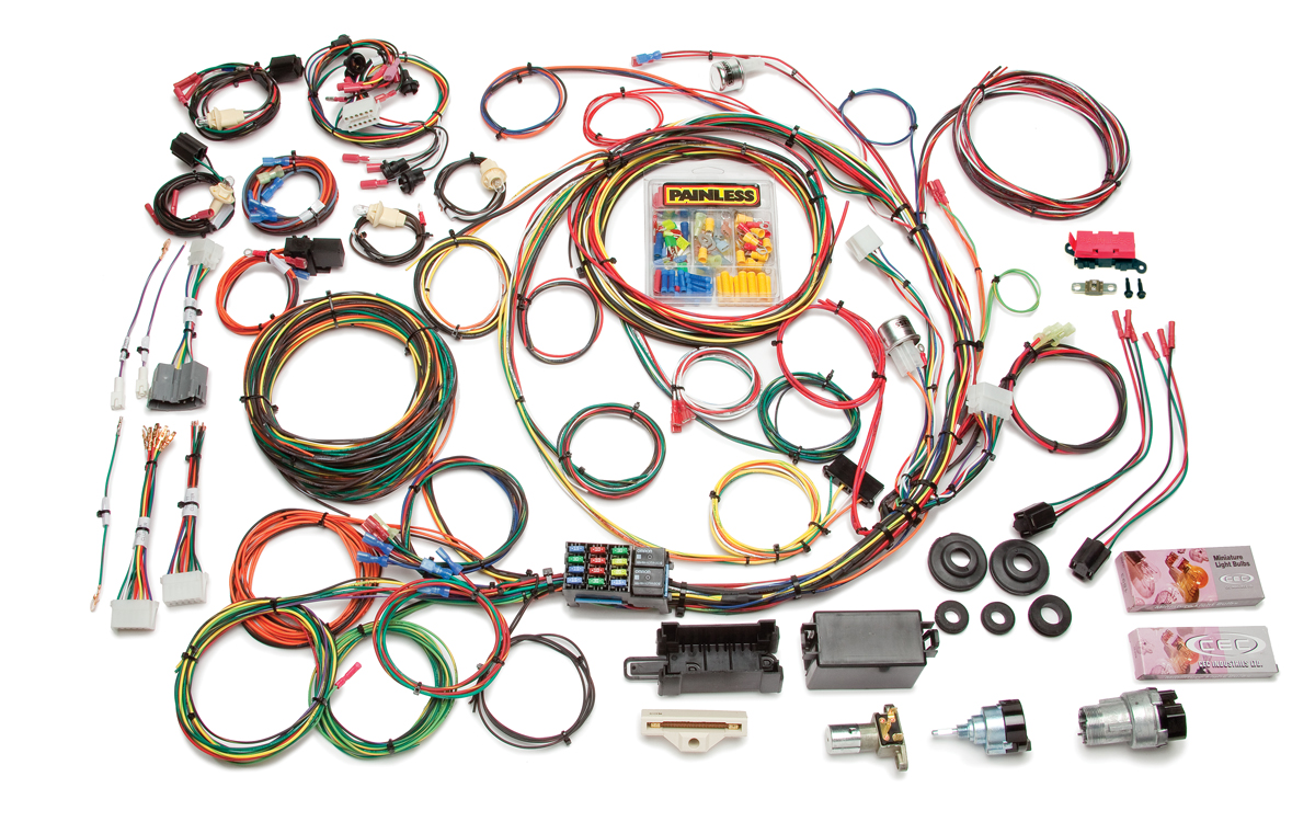21 Circuit Direct Fit 1967-77 F-Series Ford Truck Harness w/Switches