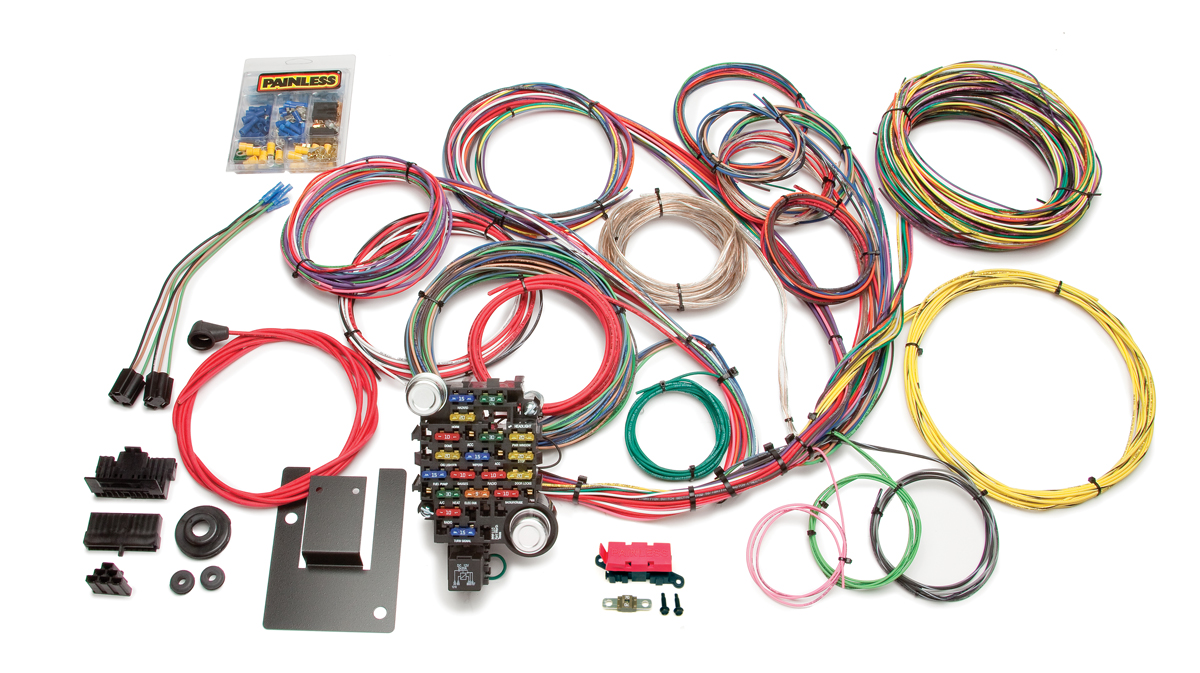 Painless Wiring Harness Chevy - Data Wiring Diagrams