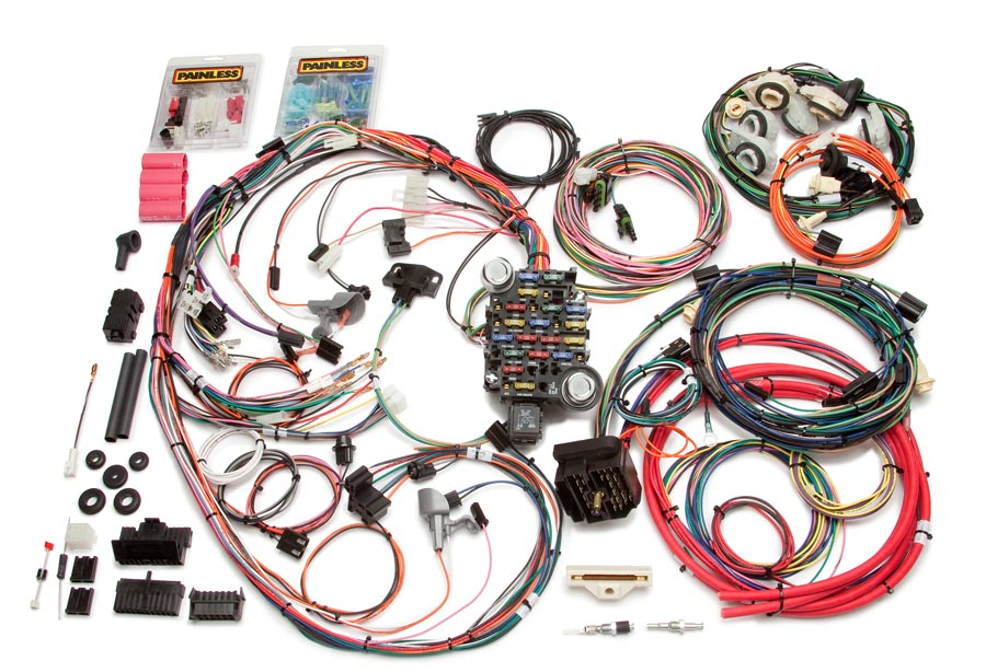 26 Circuit Direct Fit 1978-81 Camaro Harness Painless Performance