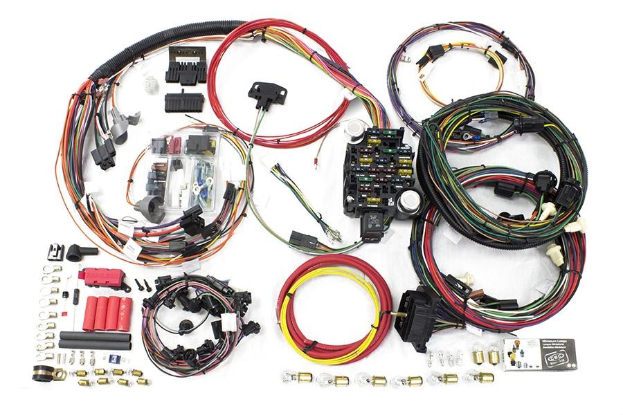 26 Circuit Direct Fit 1970-72 Chevelle / Malibu Harness Painless