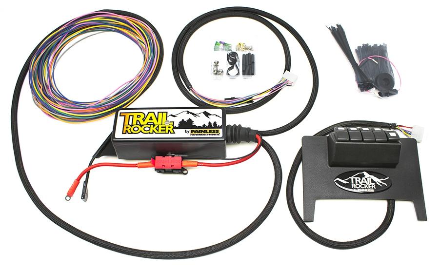 2011-2018 Jeep Wrangler JK Trail Rocker Accessory Control System
