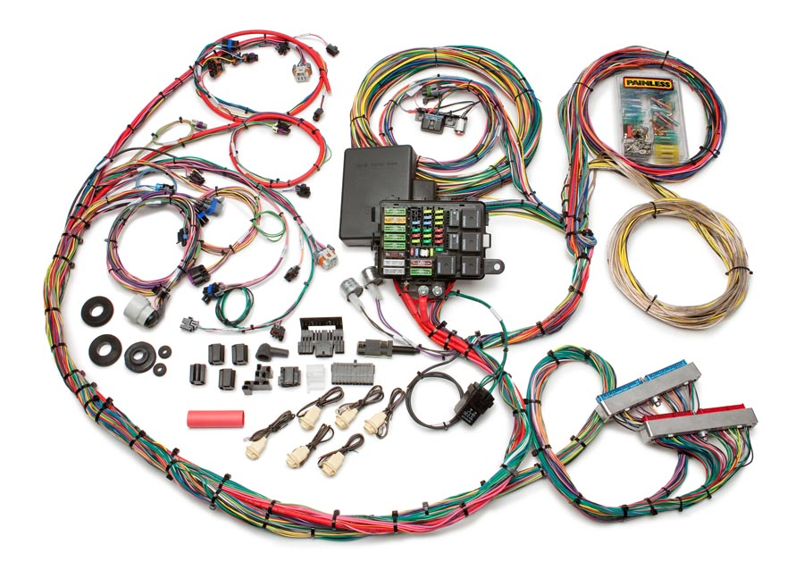 1999-2006 GM Gen III 48/53/60L Integrated EFI  Chassis Harness