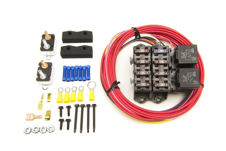 Universal Painless Wiring Fuse Box - Wiring Diagram Online