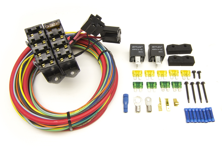 CirKit Boss Heavy Duty Auxiliary Fuse Block/7 Circuits (7 Ignition