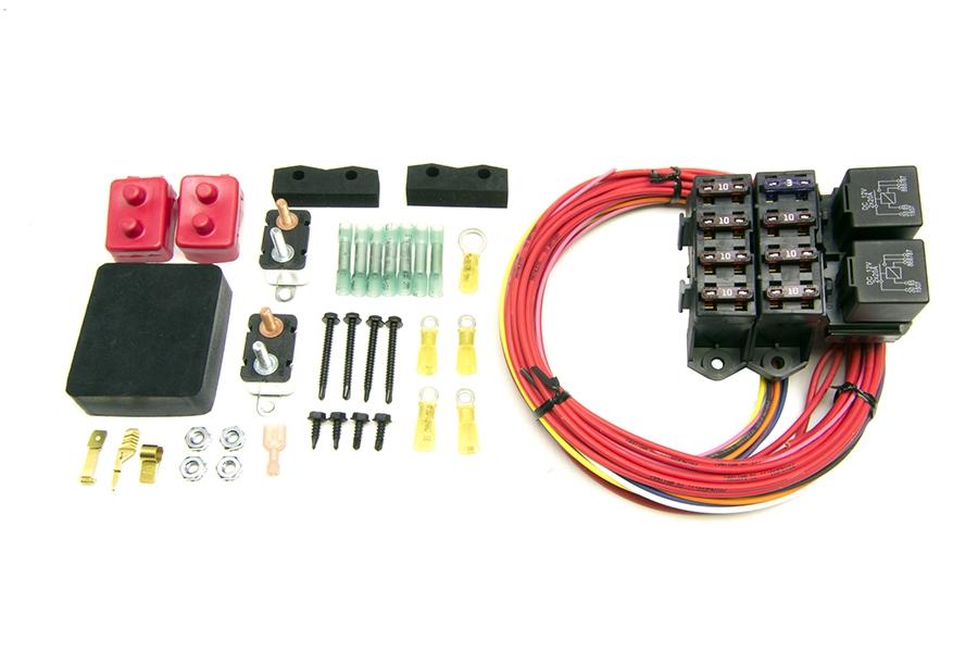 CirKit Boss Auxiliary Fuse Block/7 Circuits/Weatherproof (7 Ignition