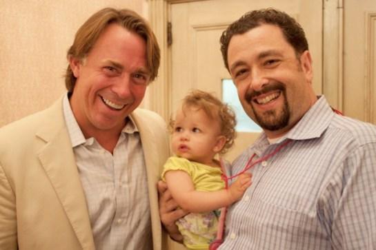 John Besh, Barnaby Dorfman and Child-JPG