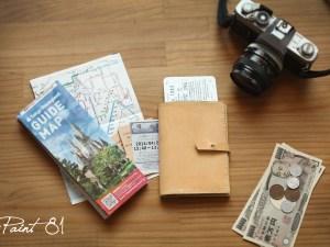林口-帶著自己手工縫製的護照套一起旅行