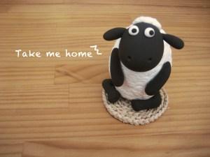 林口-輕黏土笑笑羊存錢筒