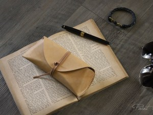 手作課程-植鞣皮真皮眼鏡盒