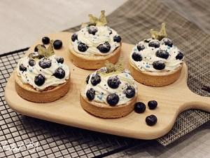 paint 81 藍莓乳酪塔