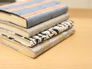 書本套 書衣 筆記本保護套 DIY 裁縫 林口 泰山 五股 板橋 一人開班 裁縫 縫紉
