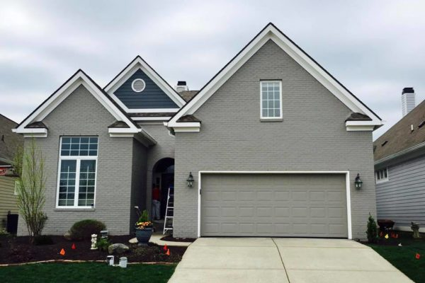 Indianapolis Exterior House Repaint
