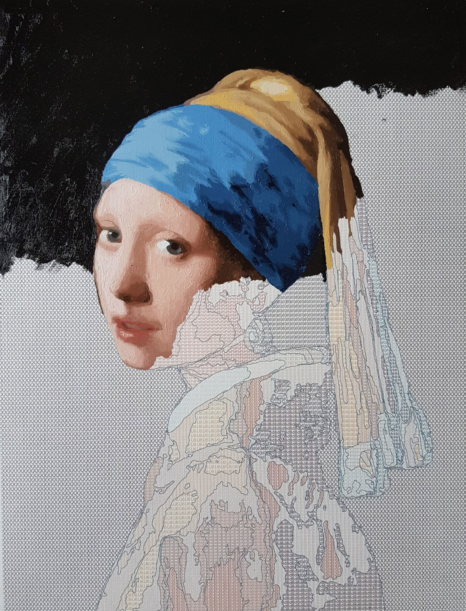 Oil Painting Kit 'Girl with a Pearl Earring'