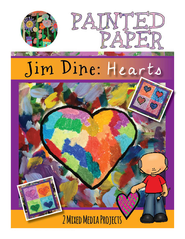Jim Dine Hearts cover