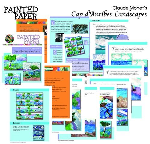 Monets Cap d Antibes Landscapes preview