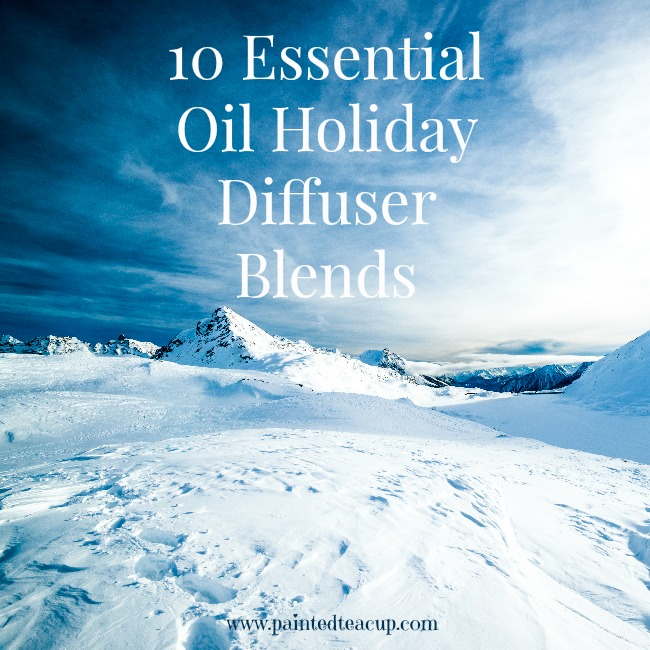 10 Essential Oil Holiday Diffuser Blends