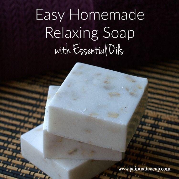 Easy Homemade Relaxing Soap with Essential Oils