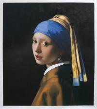 Girl with a Pearl Earring - Johannes Vermeer Paintings