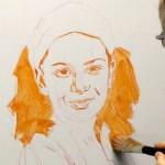 Acrylic Portrait Painting Techniques