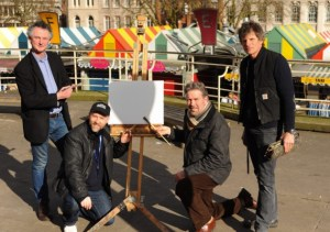 Paint Out Norwich in EDP news story